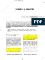 Propuesta de modelo de diagnostico