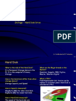 Chpt6 Storage - Hard Disk Drive