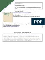 Biohydrometallurgy for Nonsulfidic MineralsA Review