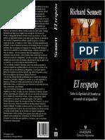 1. Richard Sennet - El Respeto