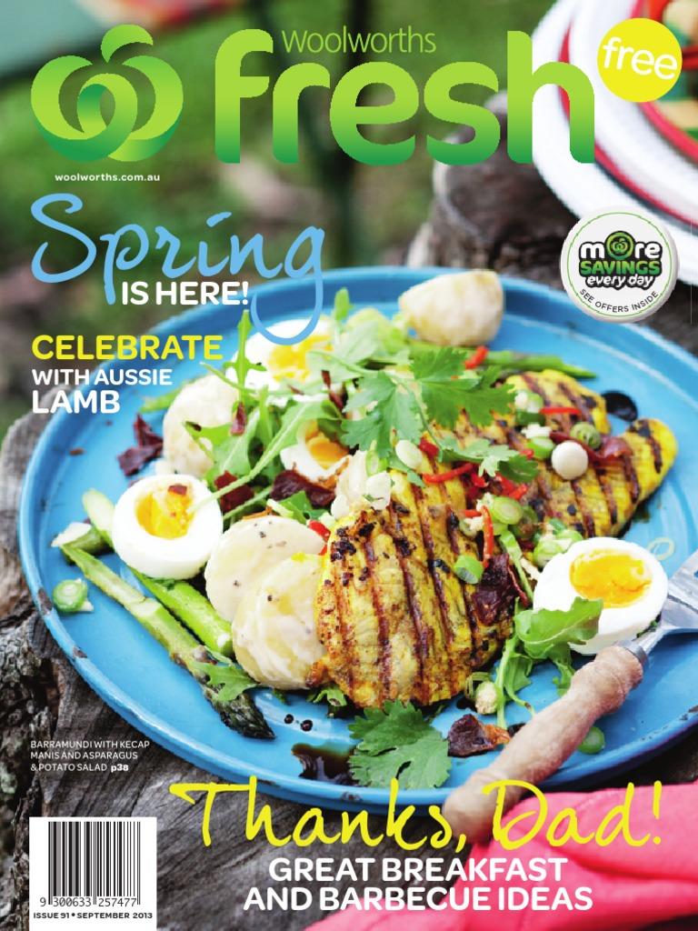 Woolworths Magazine 01 September 2013 Stir Frying Roasting