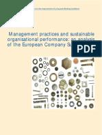 Analysis of EU Company Survey