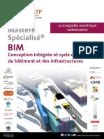 Plaquette Mastere Specialise Bim 2016