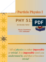 0. Particle Physics1 Plan