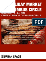 Columbus Circle Holiday Market 2010 Application