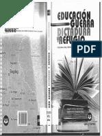 Educacion Guerra Dictadurayrefugio Politica Comparada