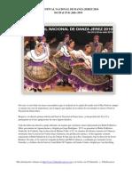 Programa - XI Festival Nacional de Danza Jerez 2010