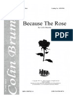 Because the Rose. Colin Brumby