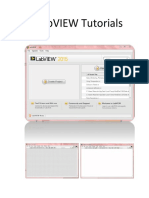 Labview Tutorials 01