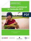 Mobile Phones and Internet in Cambodia 2015