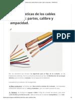 Características de Los Cables Eléctricos_ Partes, Calibre y Ampacidad