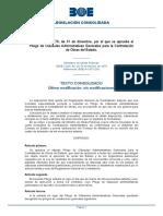 Pliego Cláusulas Grls Contratación Obras Eº. Decreto 3854-1970