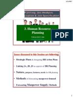 Shd. 3. HR Planning