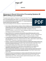 NIPS 2016 Proceedings