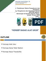 Konsep Dasar Alat Ukur Total-station Dan Theodolite Res Rendah