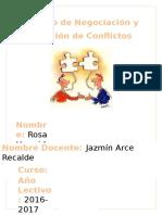 DeberTrabajo de Negociación y Solución d Conflictos (Autoguardado)