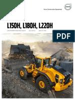 Broszura nt. produktu Volvo L150H, L180H, L220H