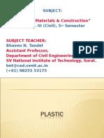 Class 13 Plastics