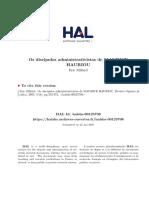 Os Discipulos Administrativistas de Maurice Hauriou
