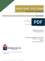 Real Estate Market Update for Fullerton - 7/06/2010