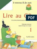 Rollant, Giribone, Debayle, Lire Au CP 1 (Le Nouveau Fil Des Mots) 1990
