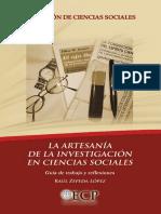 La artesanía de la investigación en ciencias sociales