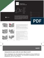 Manual Adaptadores Maxicosi Casualplay Et3476pp-Ed02 0