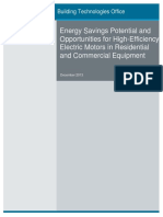 Energy Savings Potential and Opportunities for High-Efficiency Electric