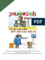 Hanosch Tiger Braucht Fahrrad