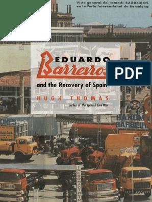Es mas que pala menor  Eduardo Barreiros and the Recovery of Spain - Hugh Thomas.pdf