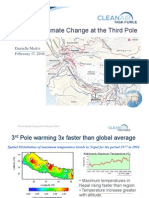 Black Carbon and Climate Change at the Third Pole