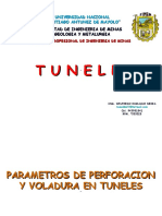 2 Parametros de Perforacion Voladura Para Tuneles