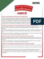 Abece Mecanismo Proteccion Al Cesante.