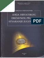 Mirjana Stefanovski - Ideja hrvatskog državnog prava i stvaranje Jugoslavije