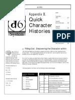 d6 Hero RPG Quick History