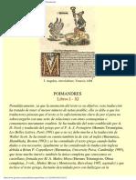 Poimandrés, Libros I - XI Del Corpus Hermeticum. Presentación.