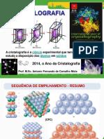 Cristalografia e Dif de R-X