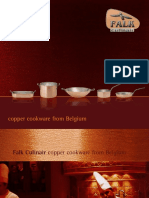 Falkculinair Copper Cookware