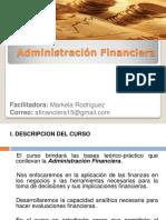 Administracion Financiera Sesion I
