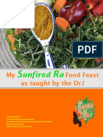 Aris Latham Sunfired Ra Food Feast