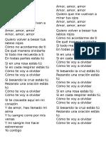 Letras Cumbias