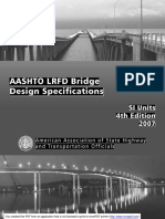 Aashto Lrfd, Si Units, 4th Edition