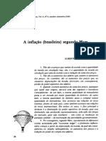 Inflacao Brasileira Marx