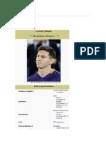 Messi (Jugador de Futbol)