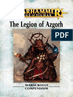 Warhammer Aos Legion of Azgorh