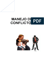 Manejo de Conflictos TRABAJO GRUPAL.