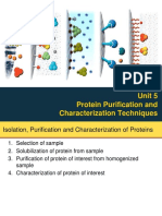 Unit 5 Protein Purification and Characterization Techniques