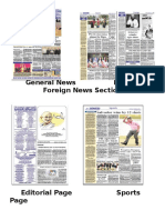 General NewsLocal and Foreign News Section