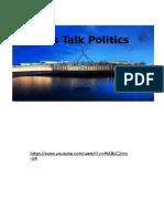 lets talk politics