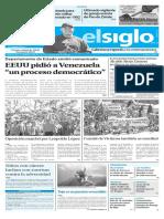 Edición Impresa Elsiglo 19-02-2017
